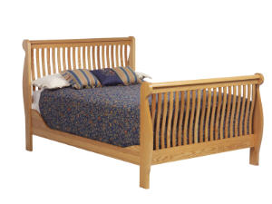 River Sleigh Bed