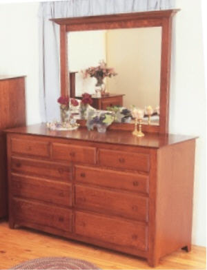 New England Shaker Dresser