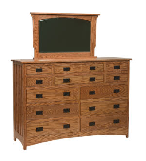 Schwartz Mission Tall Dresser