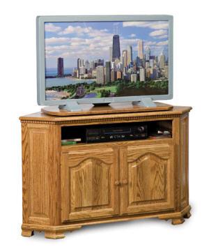 Hoosier Heritage Corner Plasma TV Stand
