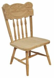 Child's Sunburst Chair