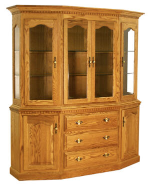 Canted Hutch