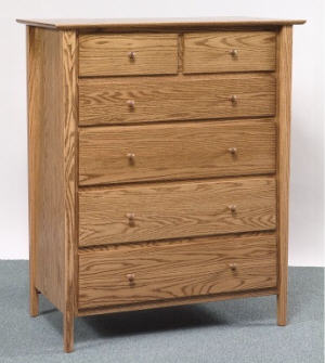 Sheffield 6 Drawer Chest