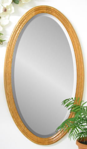 Oval Molding Mirror