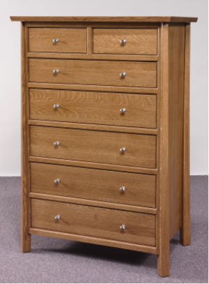 Vancoover 7 Drawer Chest
