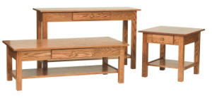 Open Mission Occasional Tables