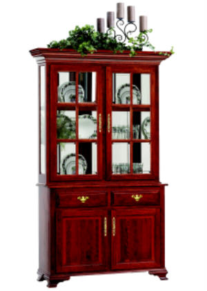 Queen Anne Style Hutch