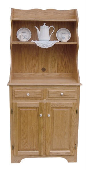 Microwave Cabinet With Hutch 390 Micrhut55 22 Wood