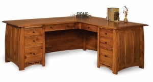 Boulder Creek L Desk