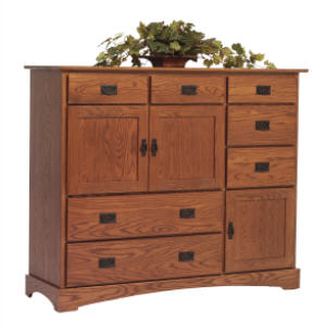 Old English Mission Grande Chest