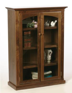 Salem Bookcase w/Doors