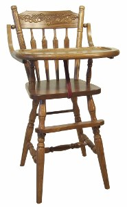 Acorn/Plain High Chair
