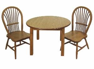 Round Child's Table