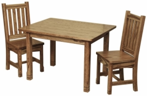 Child's West Lake Table and Chairs
