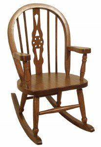 Child's Windsor Rocking Chair