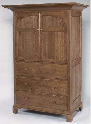 Shaker New Bedford Armoire