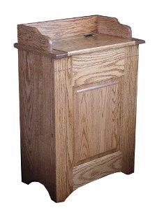 Waste Bin Hamper Tilt Out 390 W02850 103 O Wood