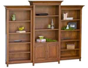Henry Stephens 3pc Bookcase Collection