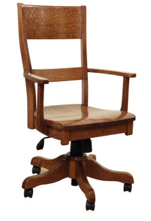 Arts & Crafts Office Chair