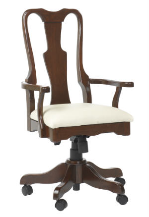 Queen Anne Office Chair