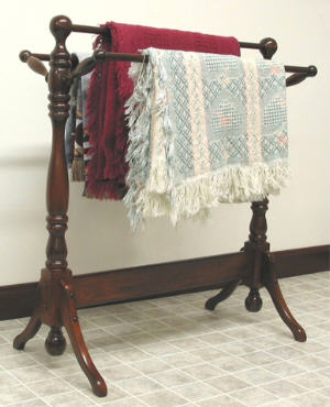 Country Quilt Rack