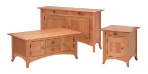 Shaker Hill Cabinet Occassional Tables