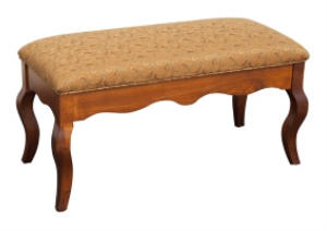 Chesapeake Bench w/Wood Skirt