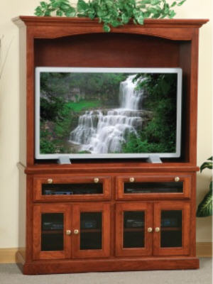 HDTV Flat Wall Entertainment Center