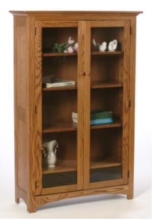 Prairie Bookcase w/Doors