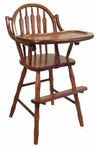 Arrow Back High Chair