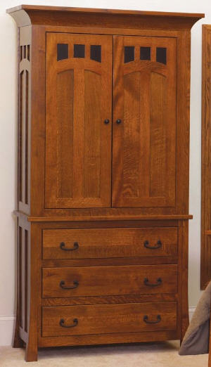 Bridgeport Mission Armoire