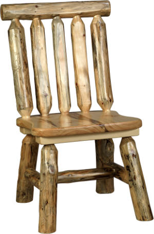 Rustic Pine Chair