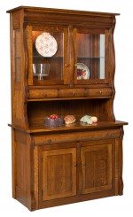 Hampton Frontier Hutch  -  Cat No: 403-HAMFH-83  -  Click To Order  -  ID: 9503