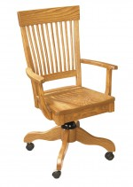 Superior Mission Desk Chair  -  Cat No: 203-80-13G-69  -  Click To Order  -  ID: 4721