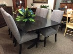 Live Edge Dining Table w/6 Chairs  -  Cat No: WM108LV4078-96 202SHELDCHS-104  -  Click To Order  -  ID: 10065