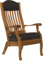 King Lounge Chair  -  Cat No: 201-KLC95-44  -  Click To Order  -  ID: 5505
