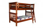 Miller's Mission Kids Bunk Bed  -  Cat No: 550-MM3731-100  -  Click To Order  -  ID: 9117