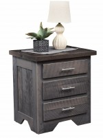 London Fog Nightstand  -  Cat No: 349-LF3DN-148  -  Click To Order  -  ID: 8486