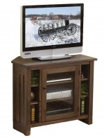 Canted Mission Corner Plasma TV Stand  -  Cat No: 504-39-900DR4S-48  -  Click To Order  -  ID: 9149