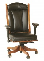 Buckeye Desk Chair w/Adjustable Arms  -  Cat No: 203-DCA65-44  -  Click To Order  -  ID: 5493