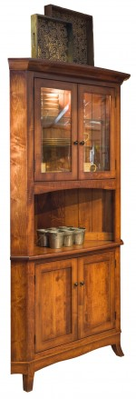Montpelier Corner Hutch  -  Cat No: 401-MONTPCH-83  -  Click To Order  -  ID: 9507