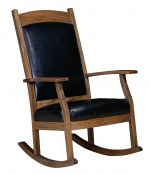 Oakland Padded Back Rocker  -  Cat No: 260-012F-118  -  Click To Order  -  ID: 5952