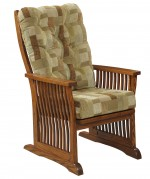 Deluxe Mission Chair  -  Cat No: 225-86-7S-69  -  Click To Order  -  ID: 9849