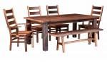 Almanzo Square Leg Table  -  Cat No: 111-4272-148  -  Click To Order  -  ID: 4009