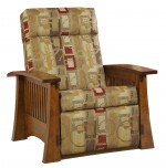 Crafsman Mission Recliner  -  Cat No: 227-88-1-69  -  Click To Order  -  ID: 9854