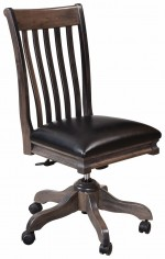 Dehl Desk Chair  -  Cat No: 203-LS76D-73  -  Click To Order  -  ID: 9961