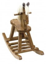 Rocking Horse w/Flat Seat  -  Cat No: 676-10-20-69  -  Click To Order  -  ID: 1985