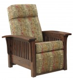 Petite Mission Recliner Chair  -  Cat No: 275-85-1B-69  -  Click To Order  -  ID: 9850