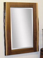 Live Edge Wall Mirror  -  Cat No: 590-2401-8  -  Click To Order  -  ID: 10047
