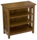 Mission Bookcase/End Table  -  Cat No: 301-M100017-103-O  -  Click To Order  -  ID: 4871